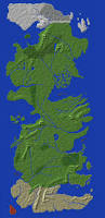 America Minecraft Map by Worldpainter User Creations Minecraft Tools Mapping And
