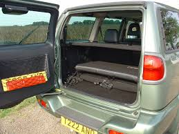 nissan micra luggage capacity nissan terrano station wagon 1993 2007 features equipment and
