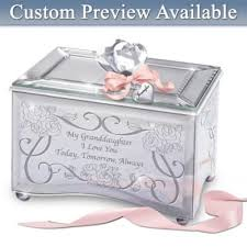 personalized granddaughter gifts personalized granddaughter box today tomorrow always