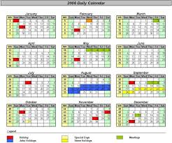 Excel 2010 Calendar Template Officehelp Macro 00037 Traditional Calendars For Excel