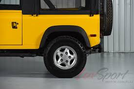 land rover yellow 1997 land rover defender 90 90 stock 1997133 for sale near new