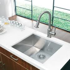 Stainless Steel Kitchen Sinks Youll Love Wayfair - Kitchen ss sinks
