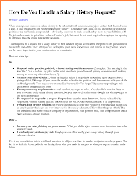 Resume With Salary History Sample 10 How To Submit Salary History Salary Slip