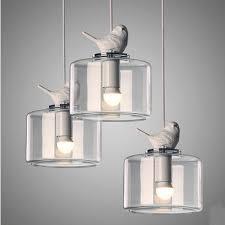 Bird Pendant Light Creative Bird Droplight Modern Led Pendant Light Fixtures For