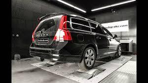 volvo minivan dia show tuning 215ps u0026 480nm volvo v70 2 4 d5 by mcchip dkr youtube
