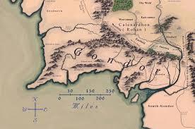 Map Of Mordor Www Tolkien Maps Com