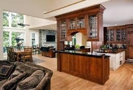 peninsula kitchen cabinets kitchen peninsula bars with cabinets above google search