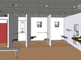 Bradley BIM Revit ArchiCAD Bentley Vectorworks  Revit Locker - Family changing room