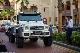 mercedes g63 amg suv 6x6 the supercars of qatar fleet of luxury vehicles owned