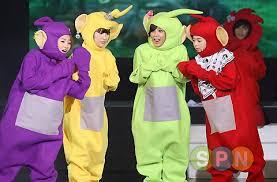 Teletubbie Halloween Costume Wonderfuls 2nd Fan Meeting Teletubbies Pictures 080726