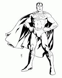 superman printable coloring pages coloring