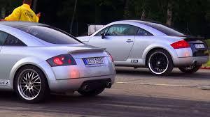 2001 audi tt quattro review audi tt 1 8t quattro sport vs audi tt 1 8 turbo 8n coupe 1 4 mile