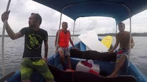 wake surf in bocas de toro selina red frog hostel youtube