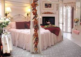 most romantic bedrooms in the world white laminated wooden bed