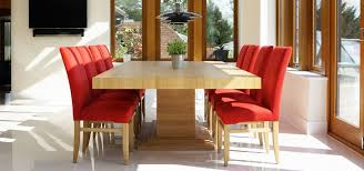 high quality oak dining table for comfort and style