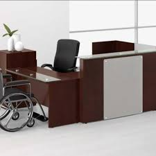 Reception Office Furniture by New Waveworks Reception Desk For Sale