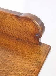 antique edwardian oak bookcase by christopher pratt