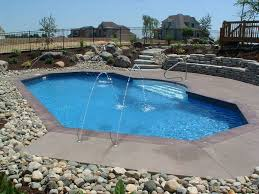 outdoor landscaping around above ground pool pool landscaping