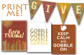 printable thanksgiving decorations fir free happy thanksgiving