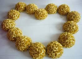 Cheap Gold Centerpieces online get cheap gold flower centerpieces aliexpress com
