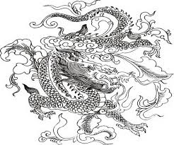 dragon coloring pages kids