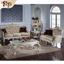 china sofa set designs china antique style fabric solid wood sofa set design for living