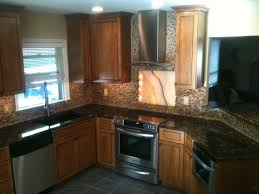 Black Onyx Countertops Kitchen Good Looking Kitchen Decoration Using Small Round Bell