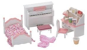 Bedroom Furniture Asda Sylvanian Families Girl U0027s Bedroom Set Kids George At Asda