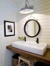 Bathroom Vanity Floating Chunky Wood Floating Bathroom Vanity Rectangular White Porc