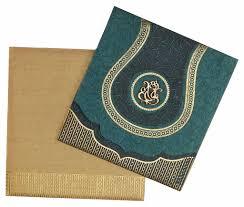Wedding Invitation Cards Hindu Hindu Wedding Card In Spring Green And Antique Golden Wedding
