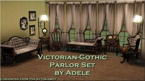 Sims 4 Furniture Sets Mod The Sims Victorian Gothic Parlor Set