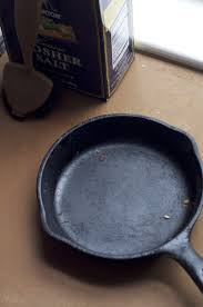 how to clean a cast iron skillet kitchn