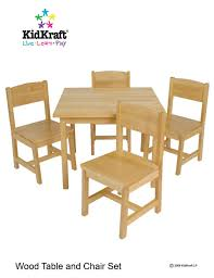 amazon kids table and chairs kidkraft farmhouse table and chair set natural amazon ca home
