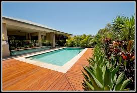 ipe wood pool deck decks home decorating ideas r7w2qzop3j