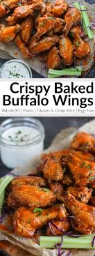 crispy baked buffalo wings the real food dietitians