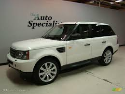 land rover sport 2007 2007 chawton white land rover range rover sport hse 20368994