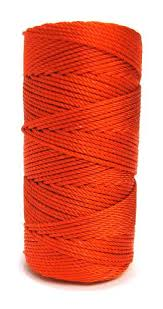 knotted rosary ultra orange 36 knotted rosary cord twine rosary cord ultra