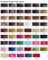 hair color chart synthetic hair color chart jpg