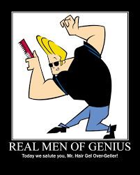 Johnny Bravo Meme - real men of genius johnny bravo by grimmjack on deviantart