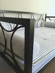 metal daybed makeover refresh restyle