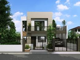 modern two story house plans unique modern small two story house plans new home plans design