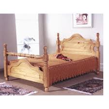 Santos Antique Pine Bed Frame Heartlands Cotswold Wooden Bed Frame For Sale At Amazing Prices