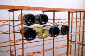 furniture marvelous wall accents rustic wine rack ideas