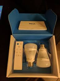 wiz light bulbs are a new player in the smart lights arena review