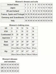 european standard clothing sizes why do people buy and wear