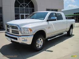 Dodge Ram White - 2010 dodge ram 2500 laramie mega cab 4x4 in bright white 145711
