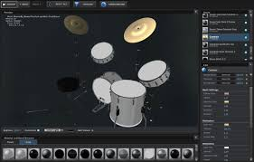 Drum Set Lights Copilot Element 3d Model Music Pack Drum Kit The Pixel Lab