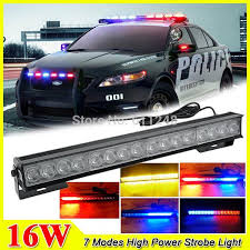 2017 new 16w hight power strobe light fireman