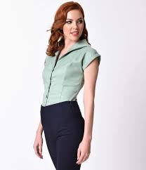 1950s rockabilly u0026 pinup tops shirts blouses