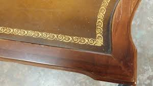 leather top side table antique mahogany leather top side table beautiful table w drawer